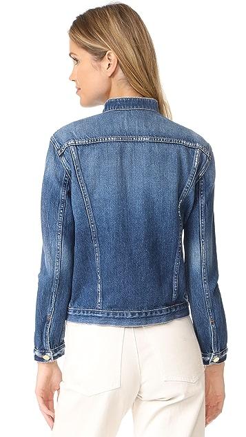 FRAME Frayed Denim Jacket