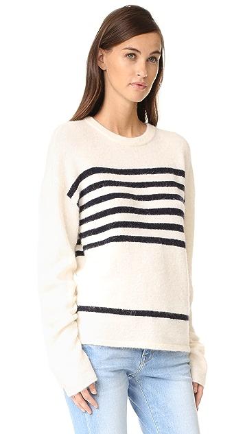 FRAME Boxy Boyfriend Sweater