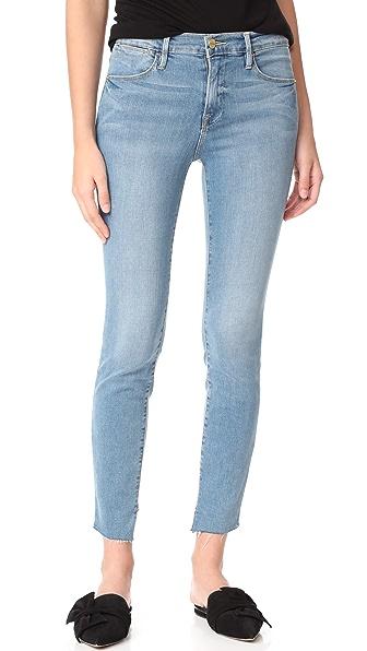 FRAME Le High Skinny Jeans - Bennett
