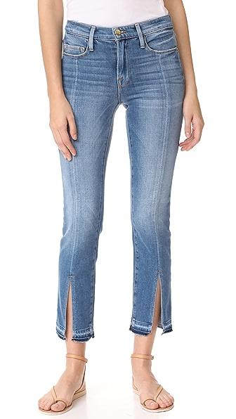 FRAME Le Nouveau Straight Jeans - Boulder