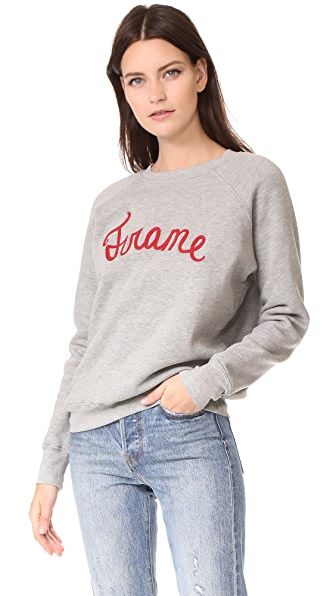 FRAME Old School Sweatshirt - Gris
