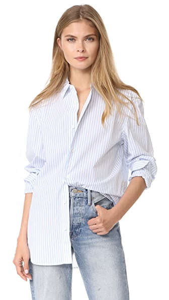 FRAME Striped Shirt