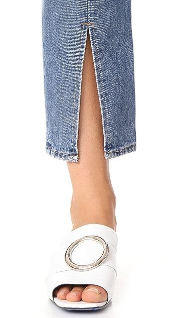 FRAME Le Original Front Split Rigid Jeans