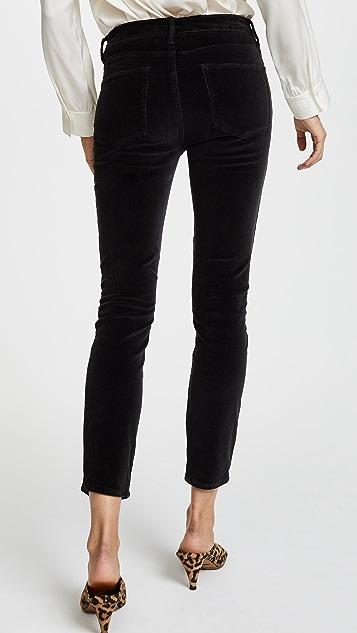 FRAME Velvet Le High Skinny Pants