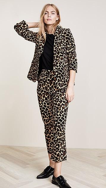 FRAME Cheetah Classic Blazer