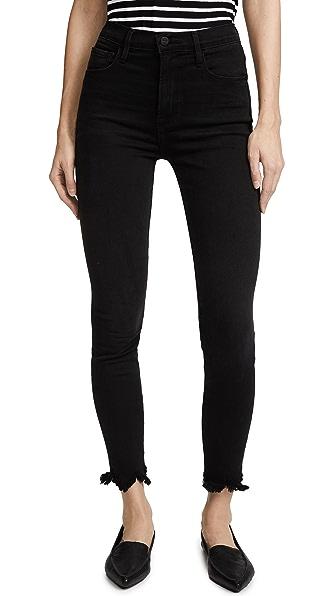 FRAME Ali High Rise Skinny Jeans In Whittier