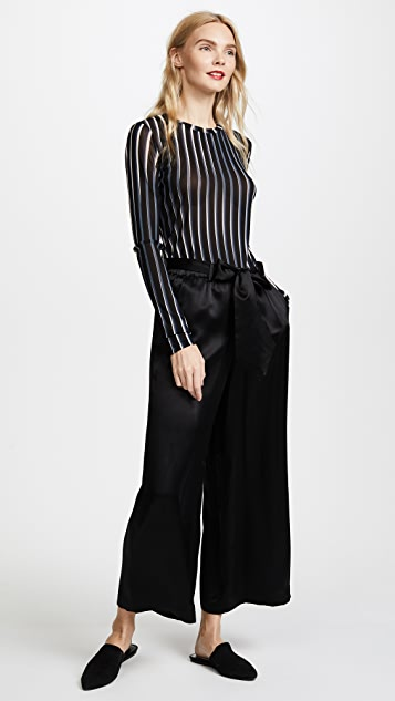 FRAME Cropped Easy Pants