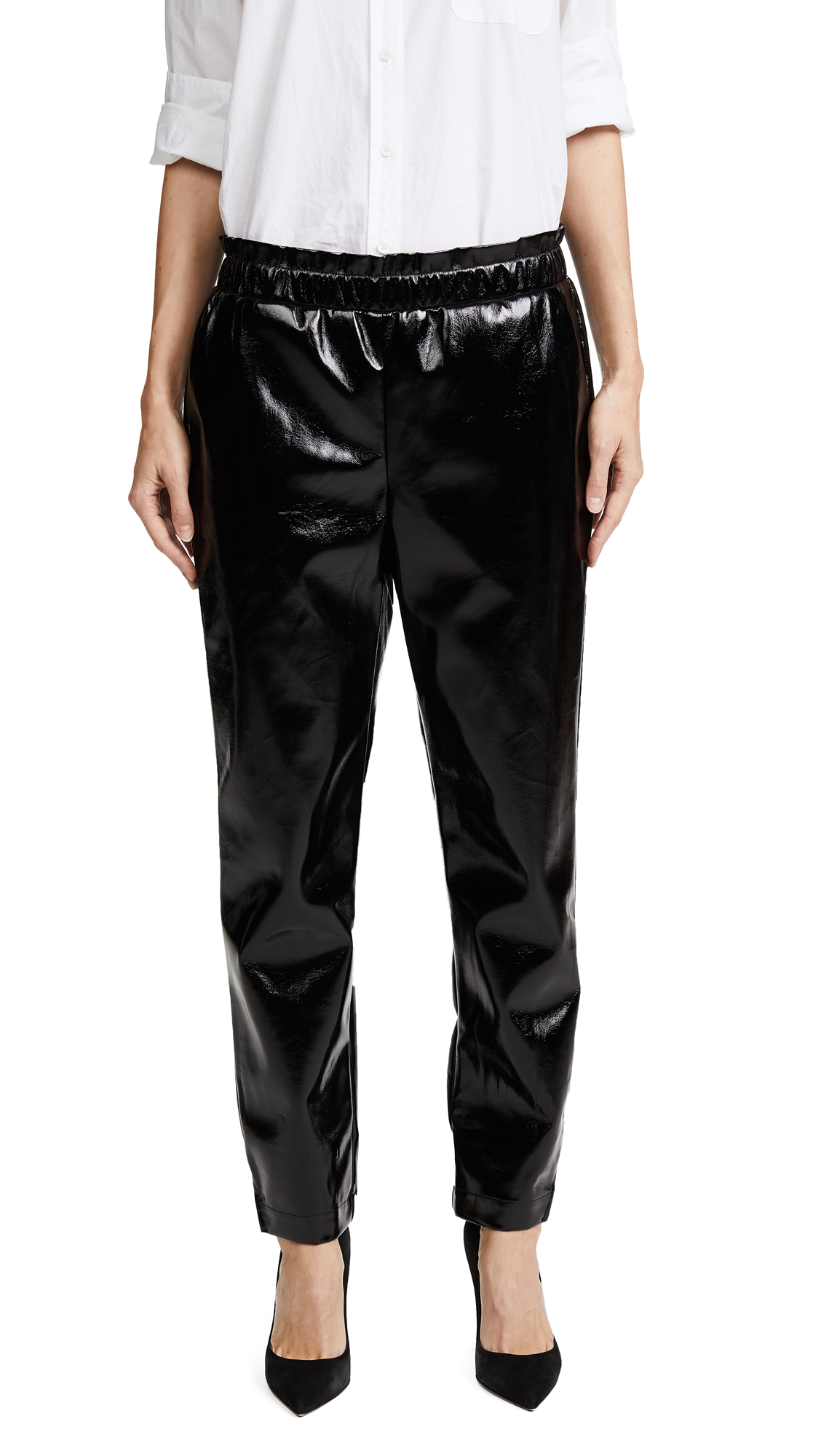 FRAME Holiday Trousers - Noir