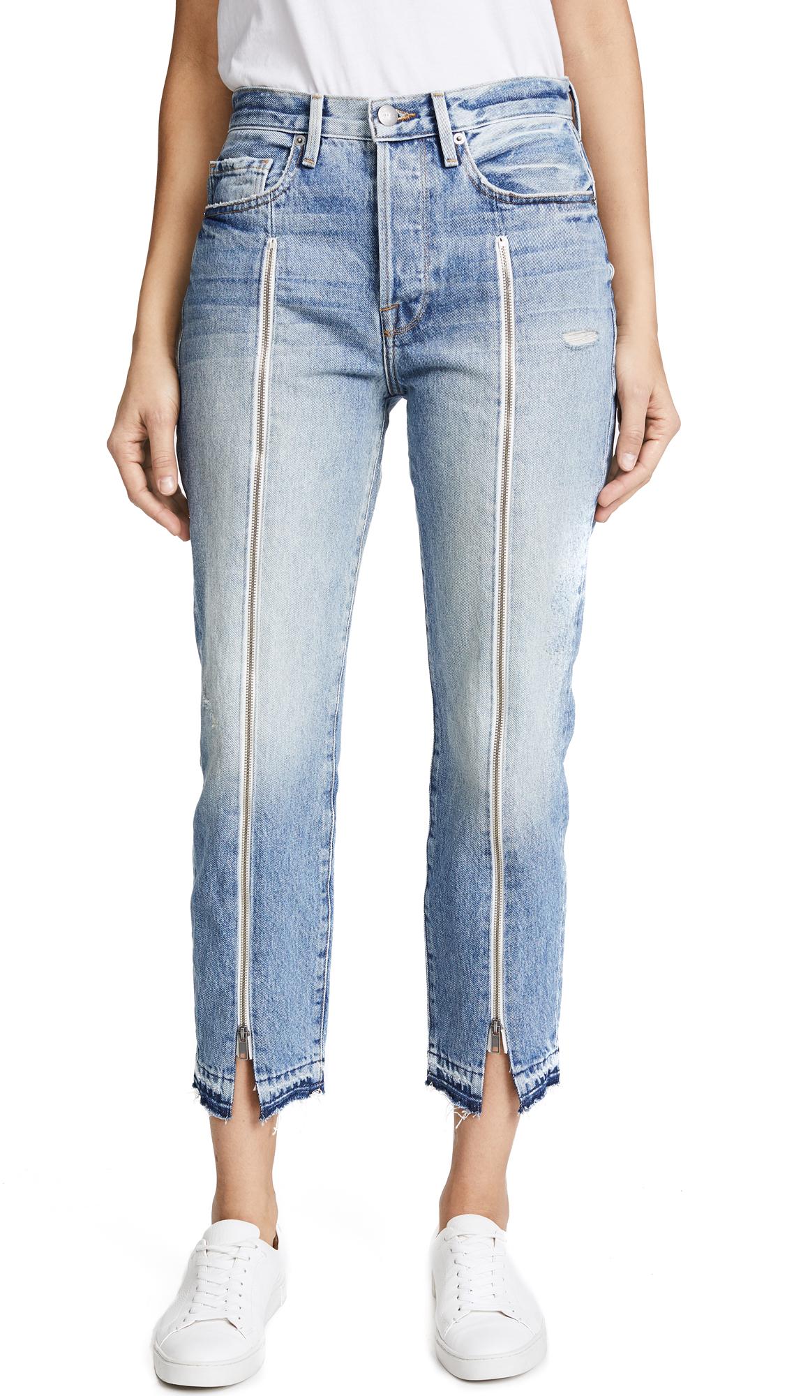 FRAME Le Original Jeans with Zipper - Fairplex