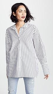 FRAME Рубашка со строгим воротником