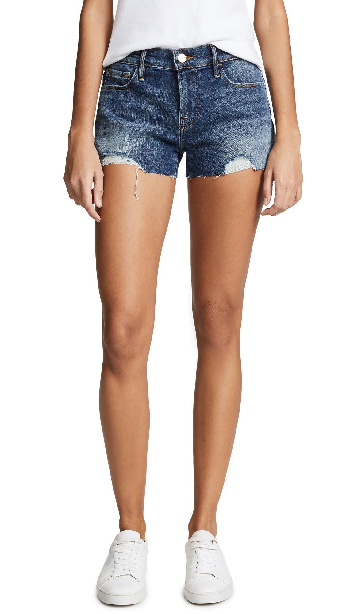 FRAME Le Cuttoff Shorts In Sandown