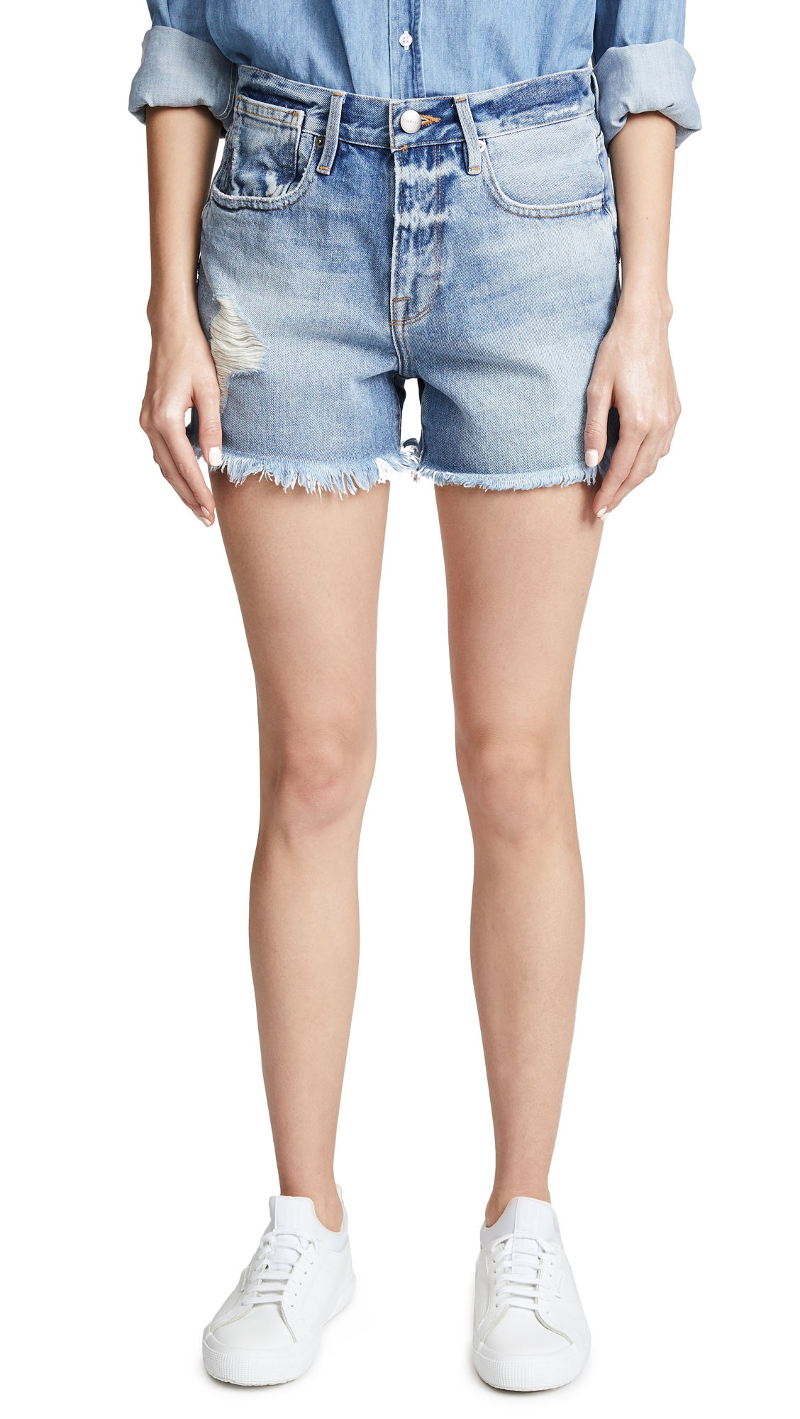 FRAME Le Stevie Shorts In Deanville