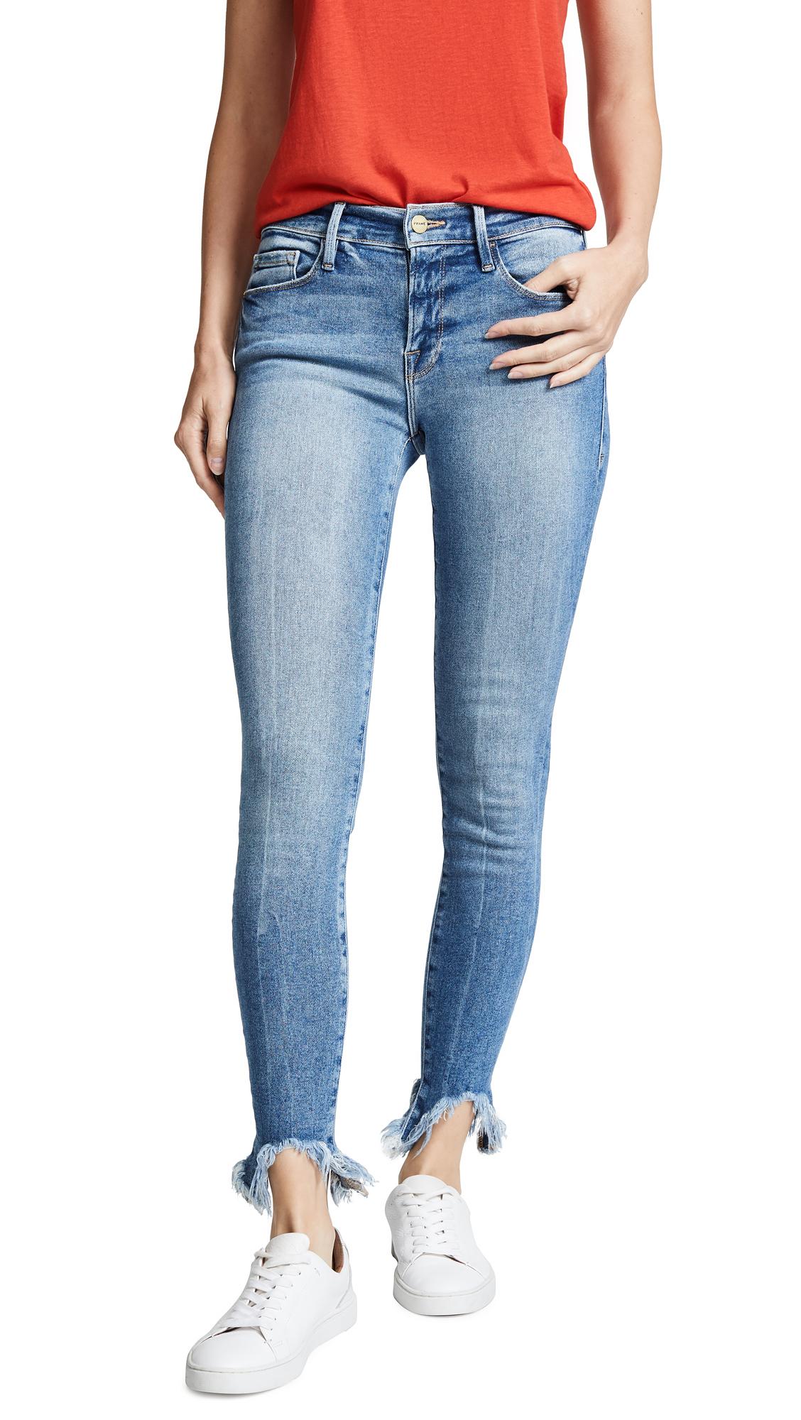 FRAME Le Skinny de Jeanne Jeans In Dupont