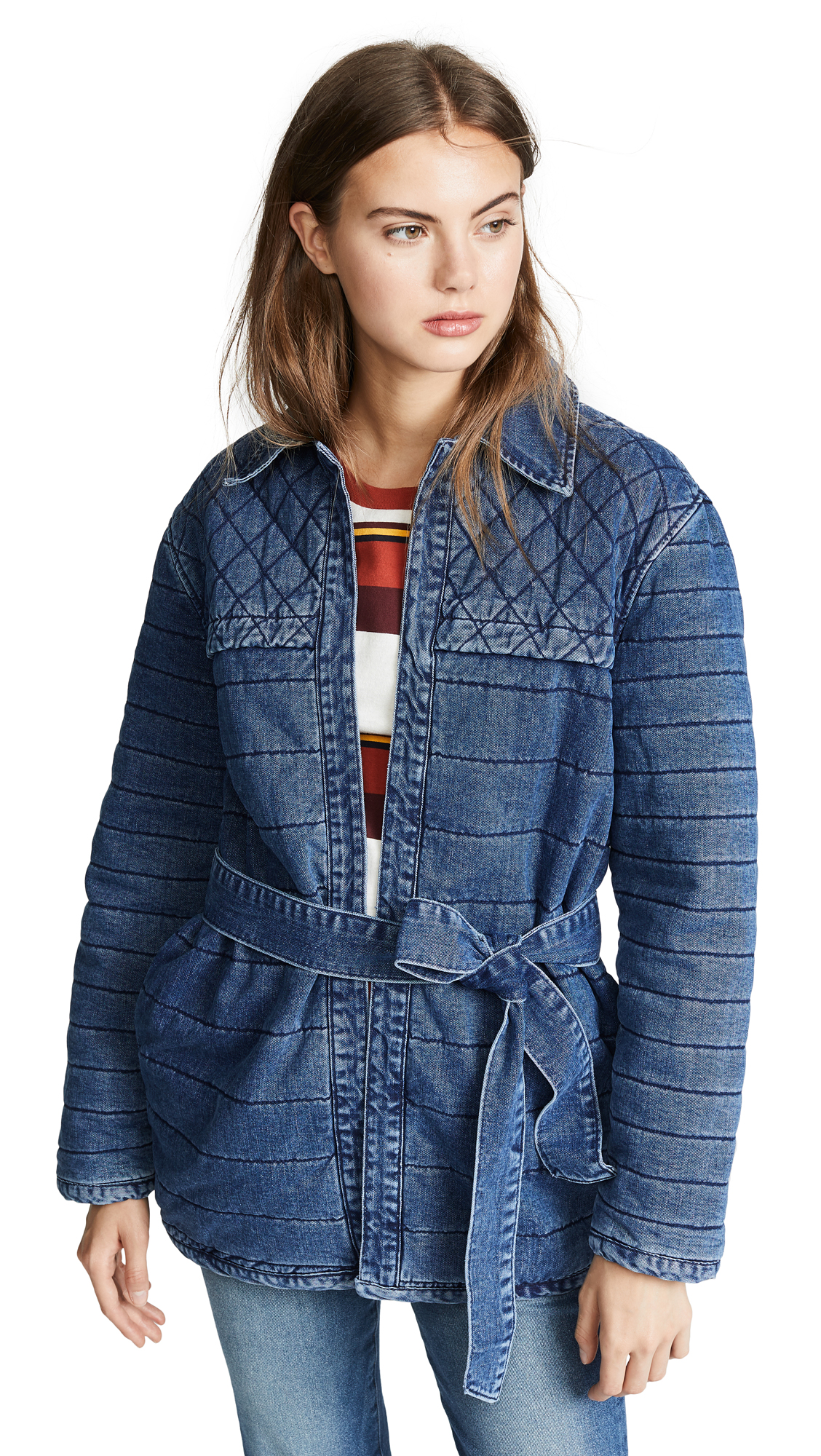 FRAME Quilted Jacket In Matheson