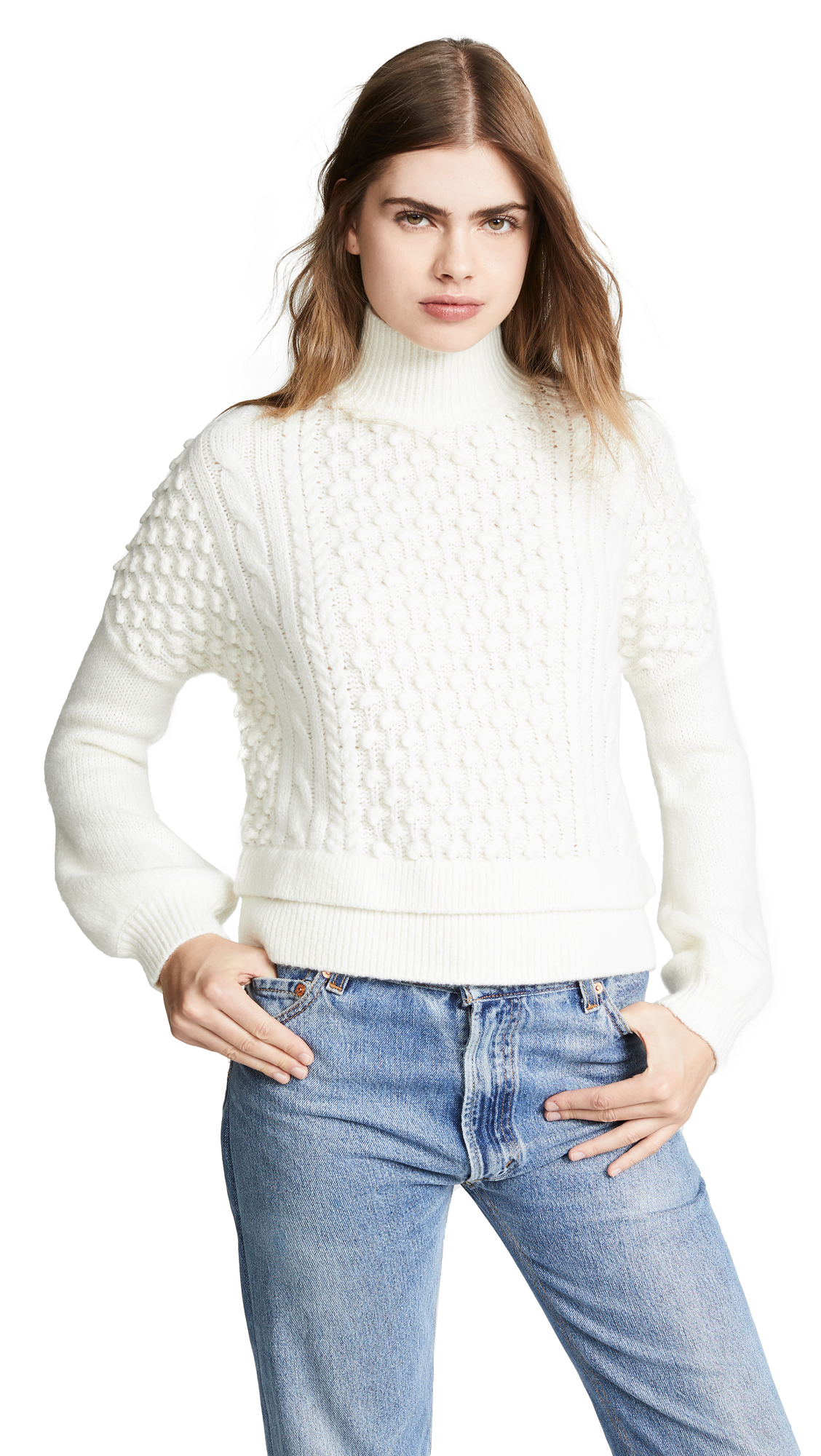 94fe28ca5a645 FRAME Nubby Sweater | SHOPBOP