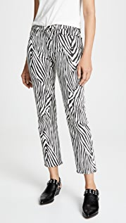 FRAME Le High Straight Zebra Jeans
