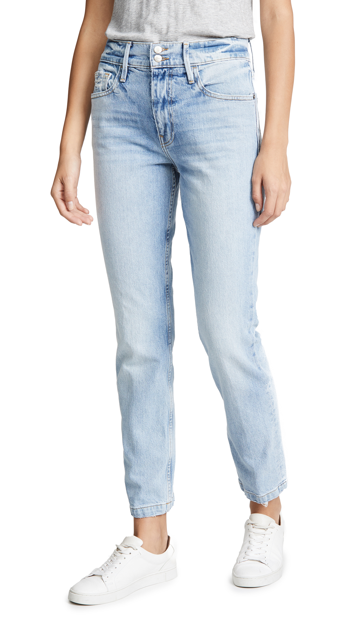 Buy FRAME online - photo of FRAME Le Sylvie Slender Straight Heritage Jeans