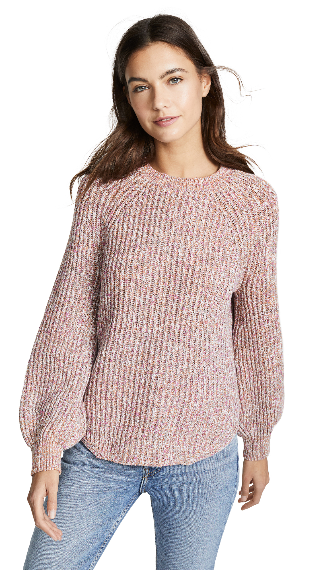 Frame Cottons MARLED CREW SWEATER