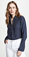 FRAME Clean PJ Button Down