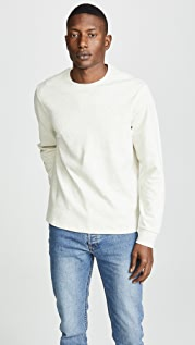 FRAME Long Sleeve Crewneck Sweatshirt