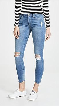 787fb16679ee FRAME. Le Skinny Cropped Jeans
