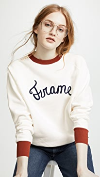 FRAME. Old School Sweatshirt 2c90e0446