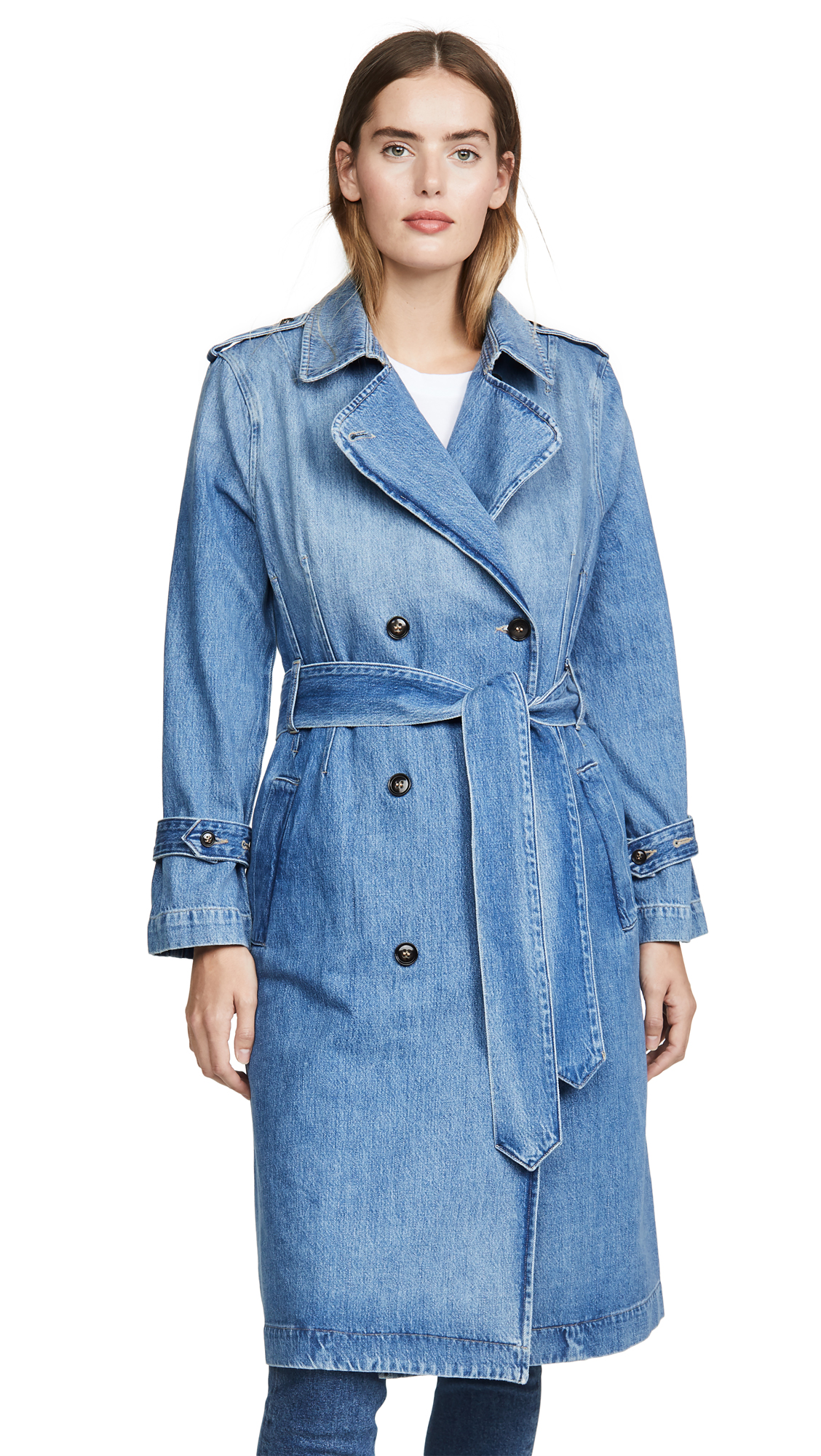 Buy FRAME Double Breasted Trench online beautiful FRAME Jackets, Coats, Trench Coats