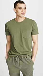 FRAME Short Sleeve Pocket Tee