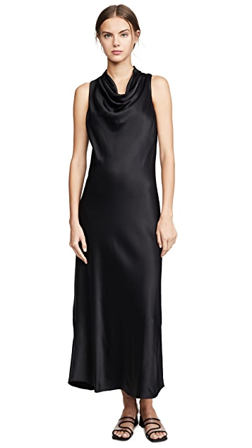 Photo of  FRAME Sleeveless Cowl Neck Dress - shop FRAME dresses online sales