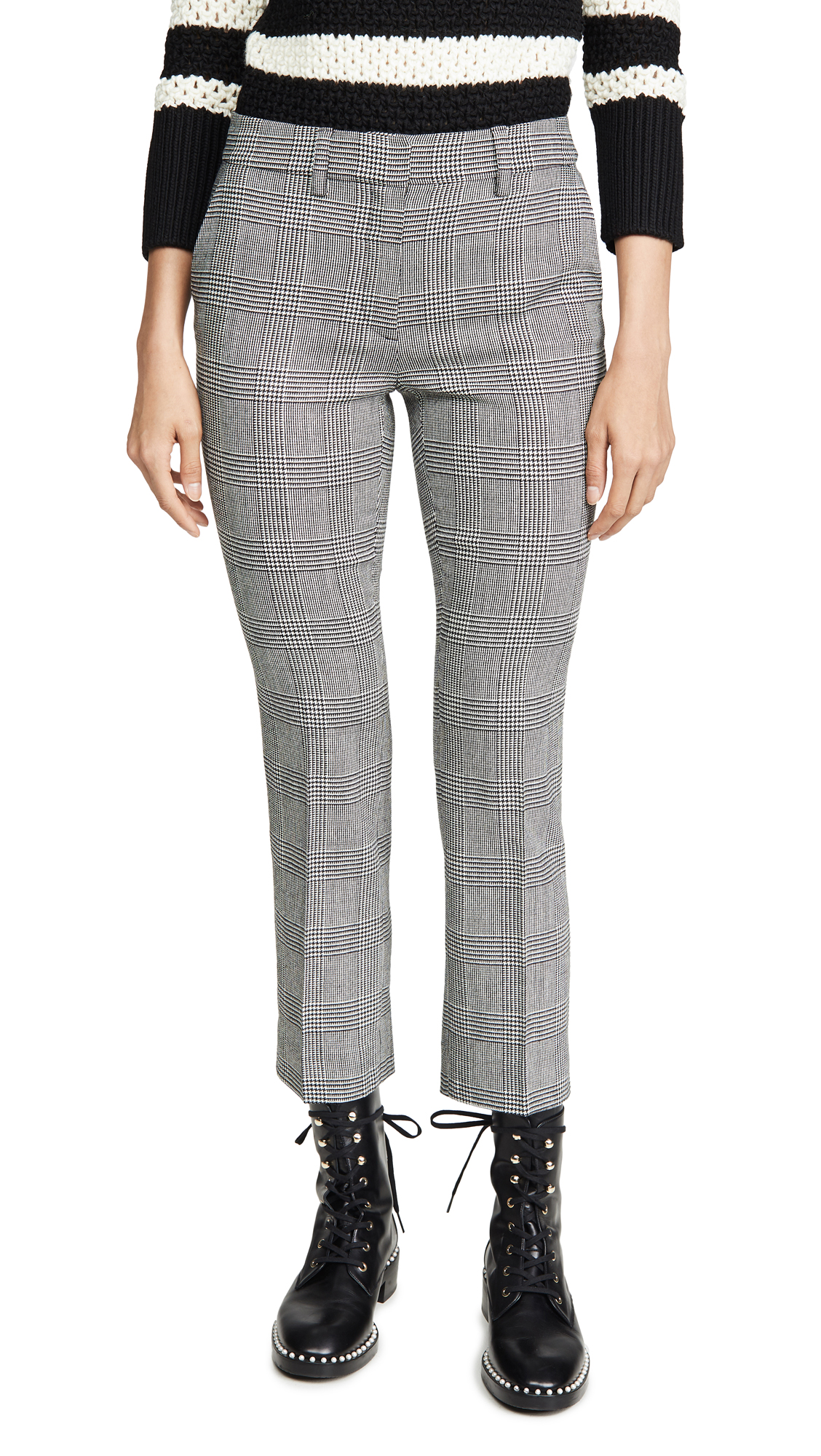 Buy FRAME online - photo of FRAME Cropped Perfect Trousers