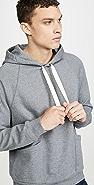 FRAME Long Sleeve Pocket Hoodie