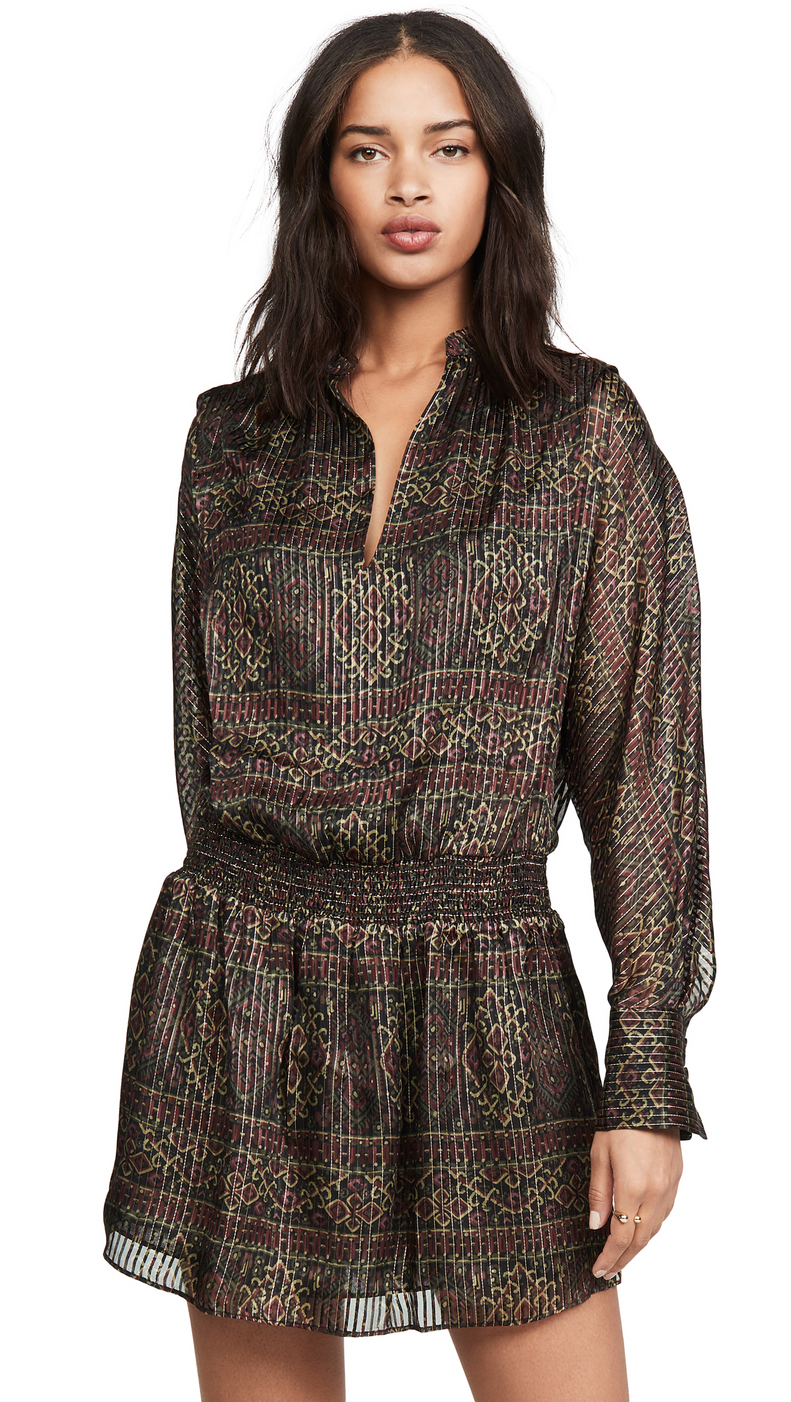 Buy FRAME online - photo of FRAME Paisley Party Dress