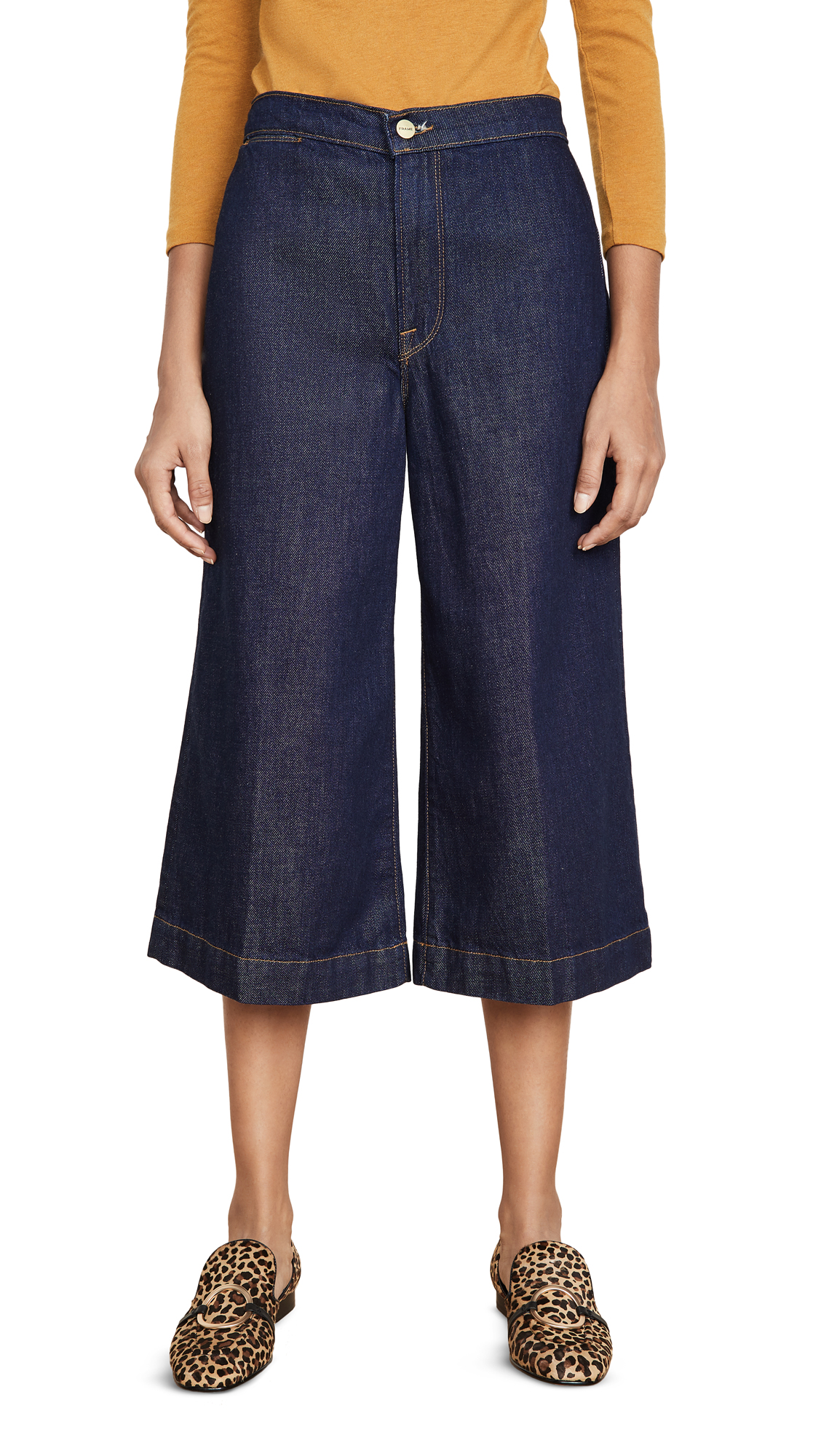 Buy FRAME online - photo of FRAME Le Culotte Trousers