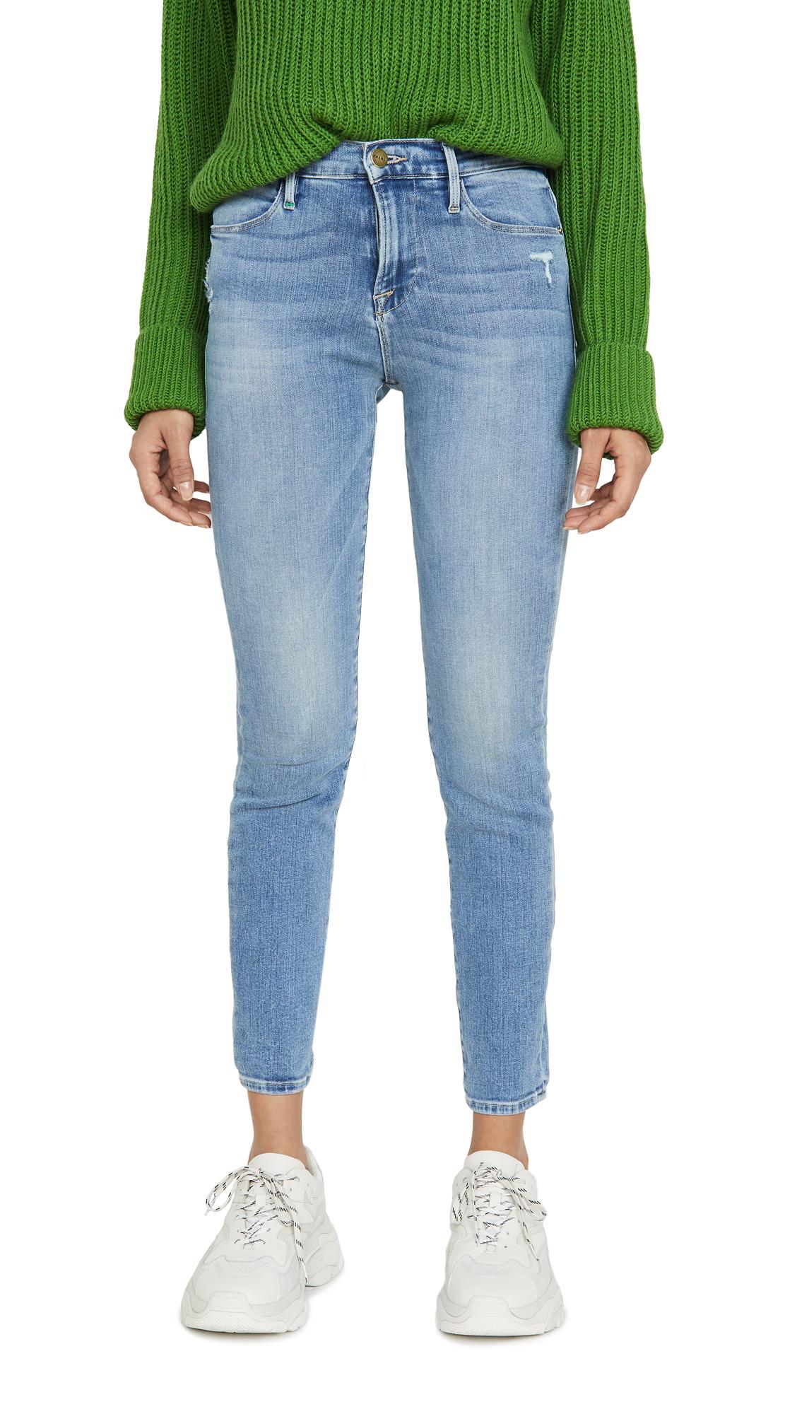 Buy FRAME online - photo of FRAME Le High Skinny Jeans