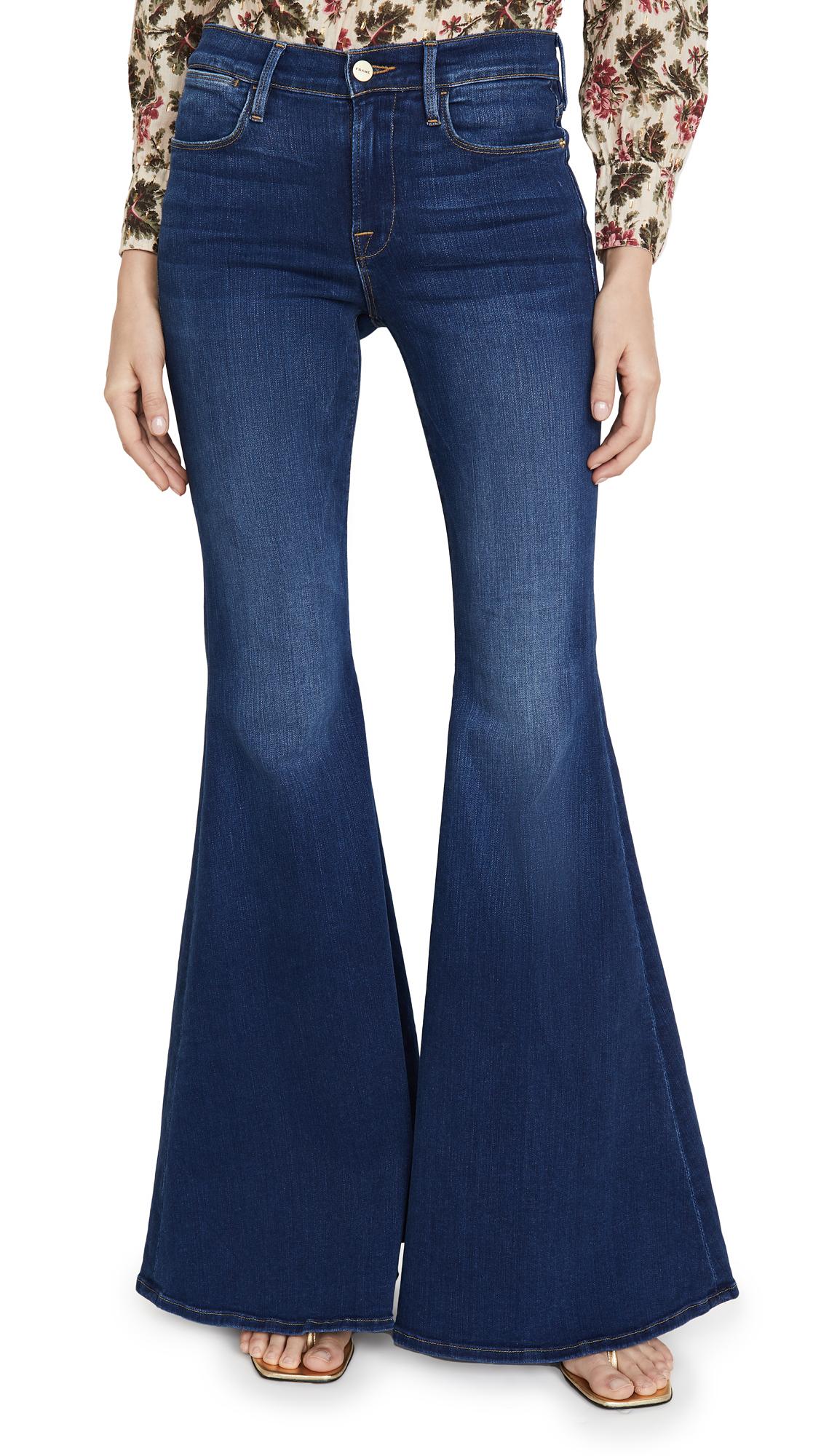 Buy FRAME online - photo of FRAME Le High Super Flare Jeans