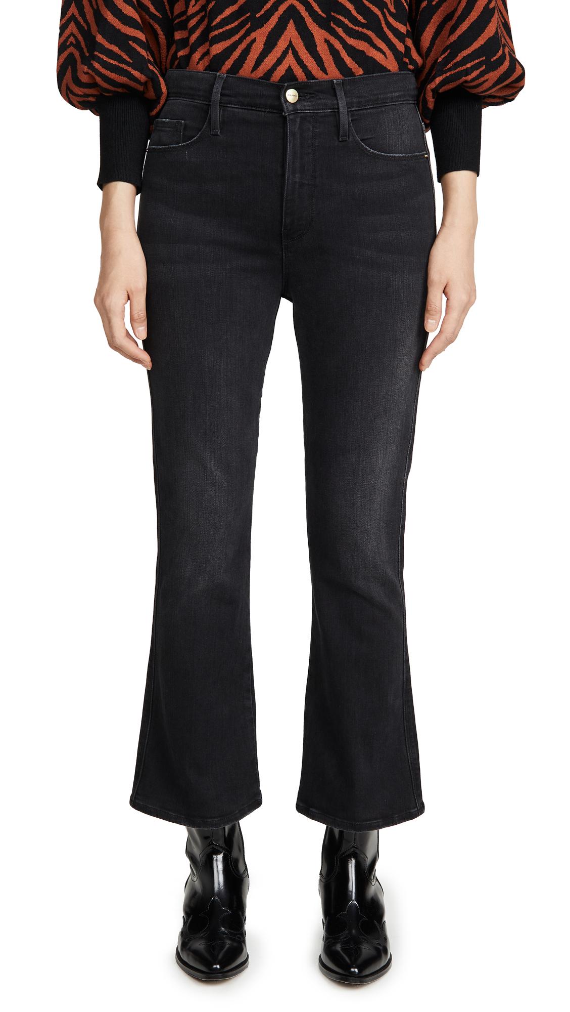 Buy FRAME online - photo of FRAME Le Sylvie Kick Boot Jeans
