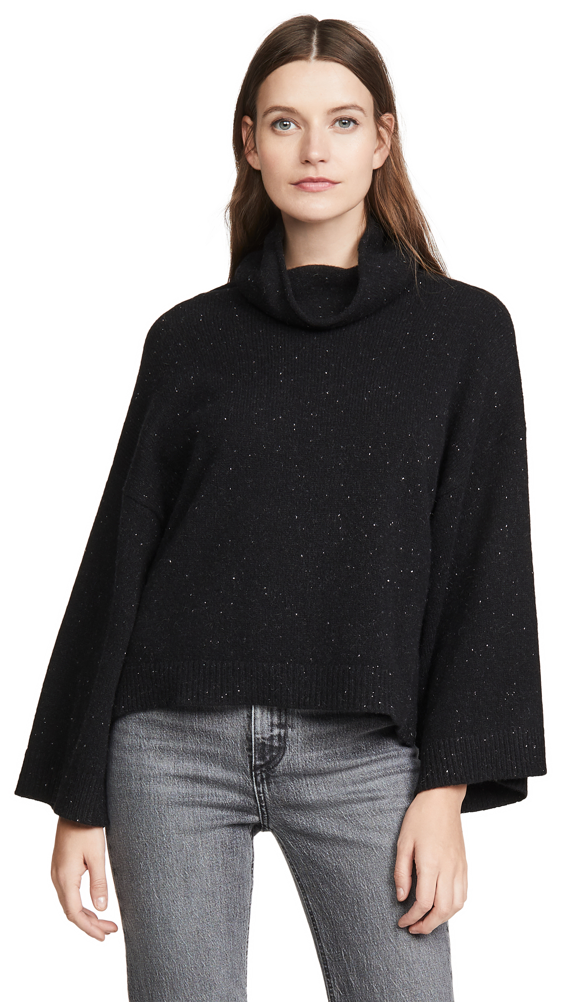 Buy FRAME online - photo of FRAME Cashmere Cowl Swing Sweater