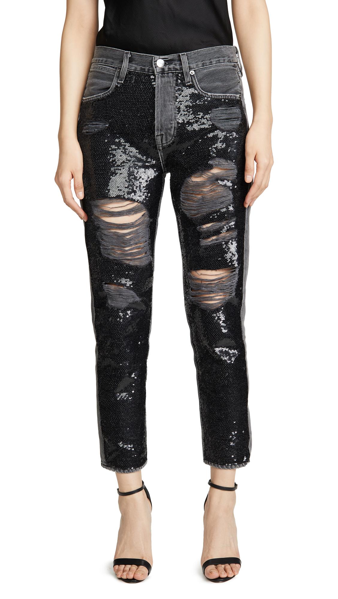 Buy FRAME online - photo of FRAME Sequin Jeans