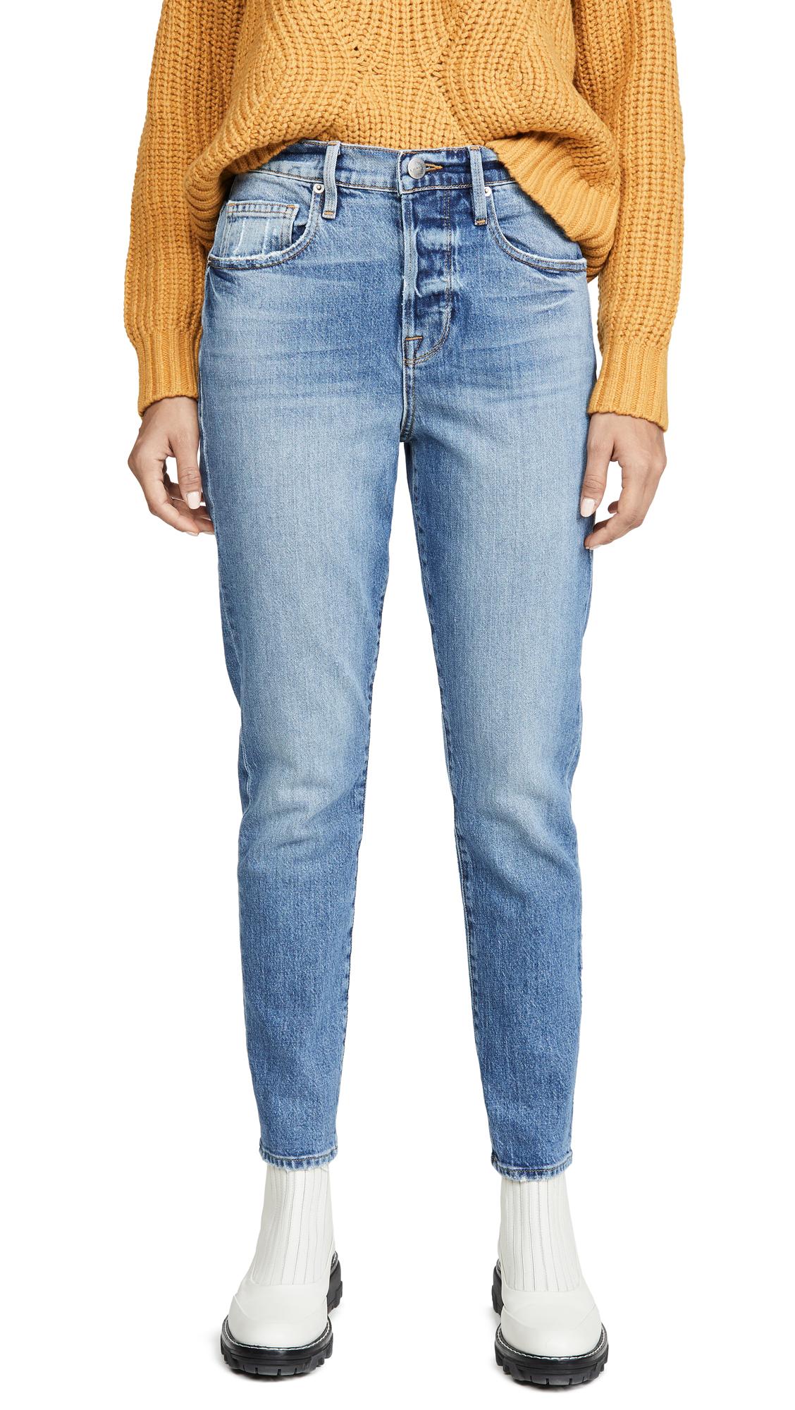 Buy FRAME online - photo of FRAME Le Original Skinny Mix Pocket Jeans