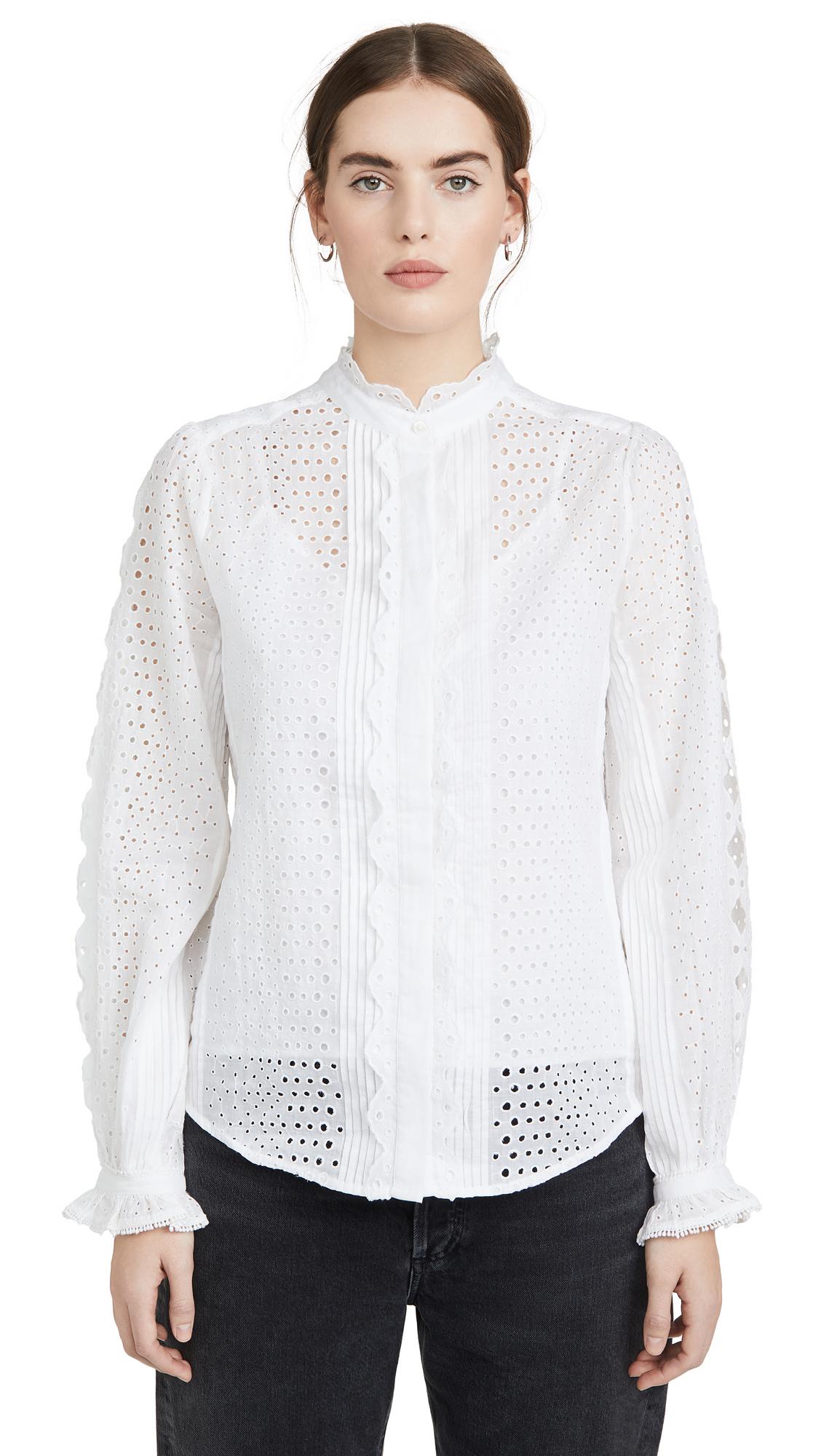 Buy FRAME online - photo of FRAME Petal Button Down Shirt
