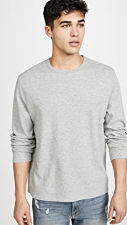 FRAME Reversible Duo Fold Crew Neck Sweatshirt