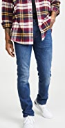 FRAME L'Homme Slim Denim Jeans in Verdugo Verd Wash