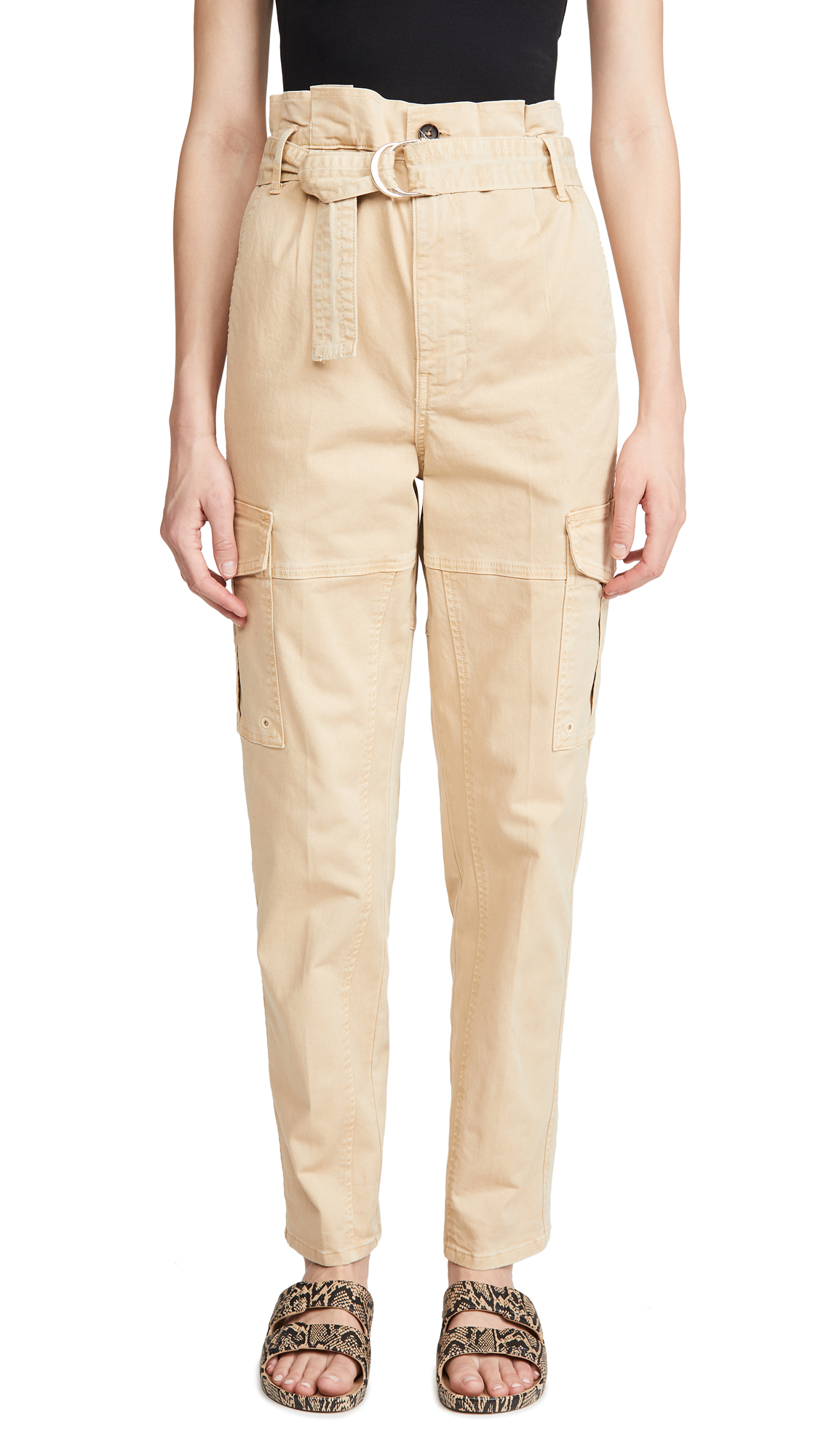 Buy FRAME online - photo of FRAME Safari Belted Pants