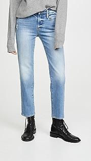 FRAME Le Nouveau 直脚牛仔裤
