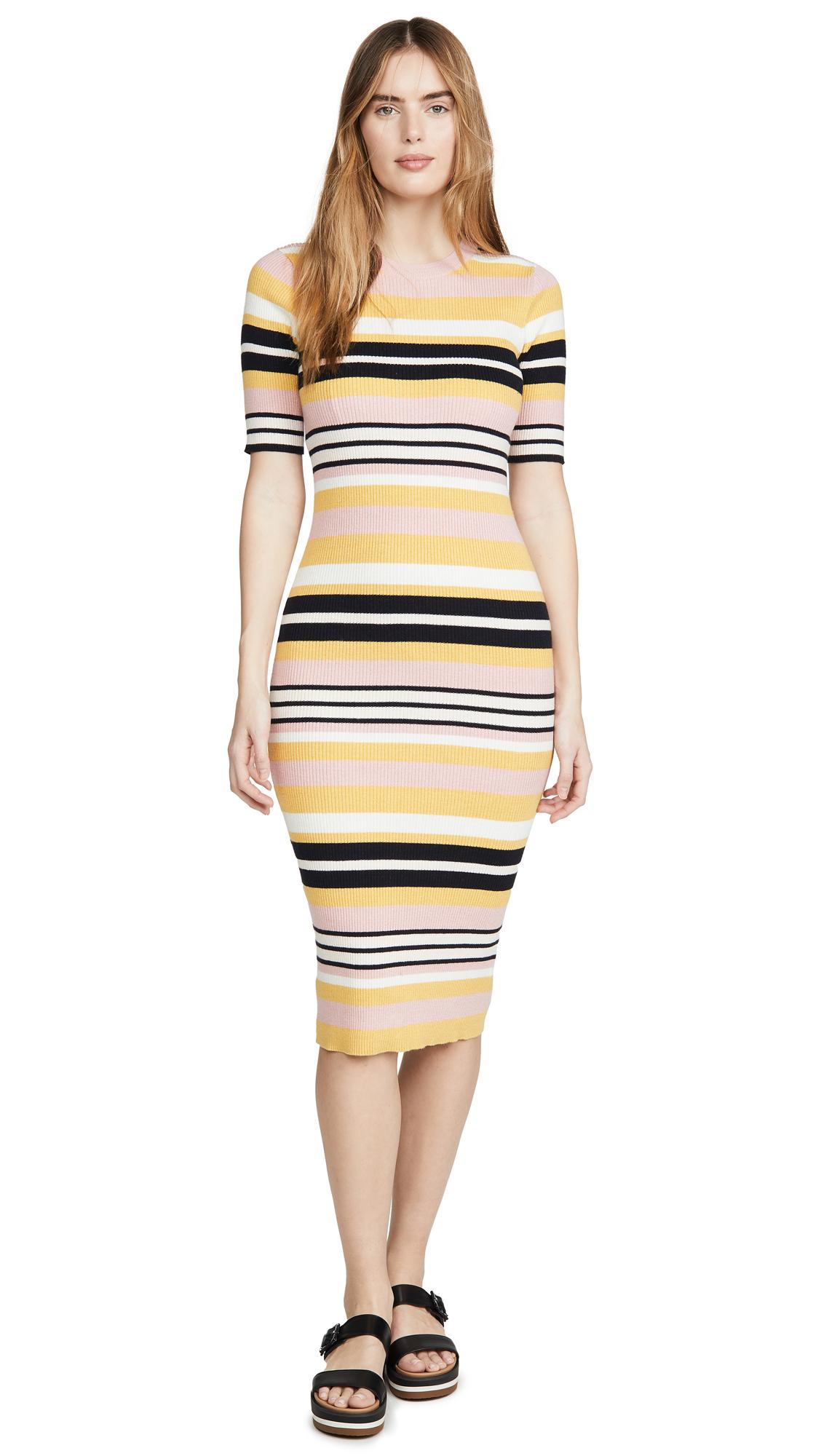 Buy FRAME Baja Stripe Dress online beautiful FRAME Clothing, Dresses