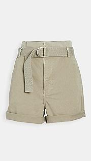 FRAME 狩猎风格系腰带短裤