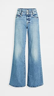 FRAME Le Palazzo Double Waistband Jeans