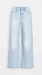 FRAME Ali Wide Crop Jeans