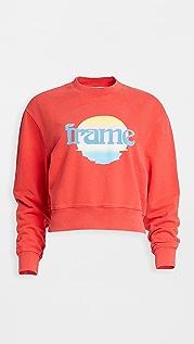 FRAME Easy Crew Sunset Sweatshirt