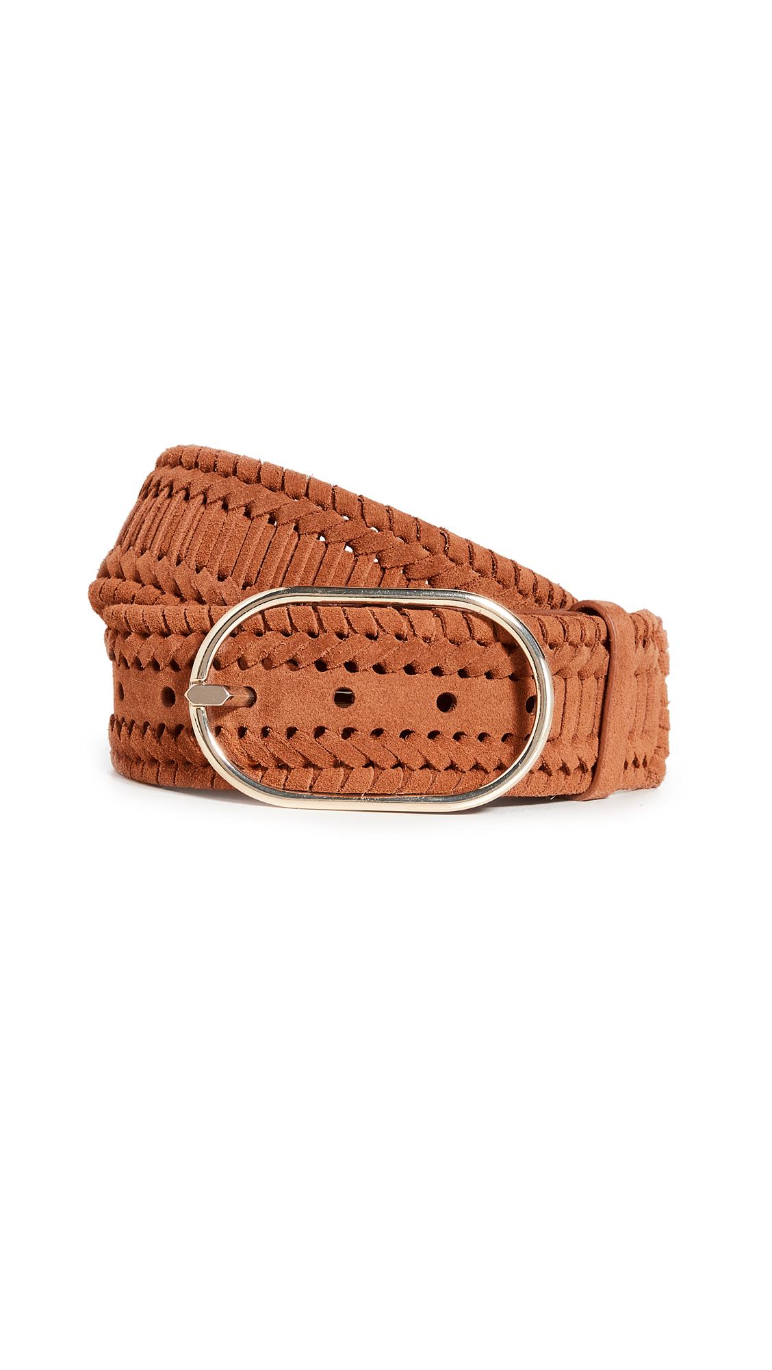 FRAME Grand Oval Braided Belt